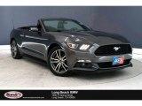 2015 Magnetic Metallic Ford Mustang EcoBoost Premium Convertible #136175166