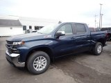 2020 Northsky Blue Metallic Chevrolet Silverado 1500 LT Z71 Crew Cab 4x4 #136175123