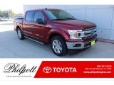 2019 Ruby Red Ford F150 XLT SuperCrew #136198656