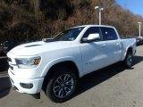 2020 Bright White Ram 1500 Laramie Crew Cab 4x4 #136198681
