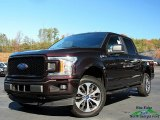 2019 Magma Red Ford F150 STX SuperCrew 4x4 #136198483