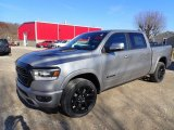 2020 Billet Silver Metallic Ram 1500 Laramie Crew Cab 4x4 #136216890
