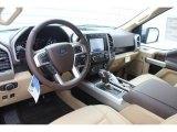 2020 Ford F150 Lariat SuperCrew Medium Light Camel Interior