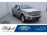2020 Iconic Silver Ford F150 XLT SuperCrew 4x4 #136216904