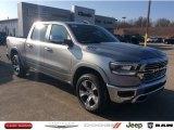 2020 Billet Silver Metallic Ram 1500 Laramie Crew Cab 4x4 #136216967