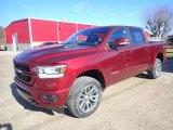 2020 Delmonico Red Pearl Ram 1500 Laramie Crew Cab 4x4 #136216891