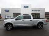 2019 Ingot Silver Ford F150 STX SuperCrew 4x4 #136233692