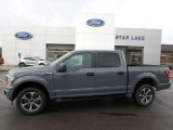 2019 Abyss Gray Ford F150 STX SuperCrew 4x4 #136233690