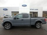 2019 Abyss Gray Ford F150 STX SuperCab 4x4 #136233689