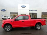 2019 Race Red Ford F150 STX SuperCab 4x4 #136233688