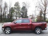 2020 Delmonico Red Pearl Ram 1500 Laramie Crew Cab 4x4 #136233474