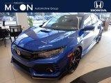 2019 Agean Blue Metallic Honda Civic Type R #136233589