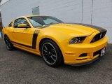2013 School Bus Yellow Ford Mustang Boss 302 #136233517