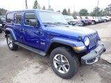 2020 Jeep Wrangler Unlimited Ocean Blue Metallic