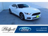 2015 Oxford White Ford Mustang V6 Coupe #136270333