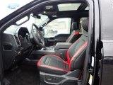 2020 Ford F150 Lariat SuperCrew 4x4 Sport Special Edition Black/Red Interior