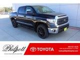 2020 Midnight Black Metallic Toyota Tundra TSS Off Road CrewMax #136303858