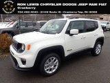 2020 Alpine White Jeep Renegade Latitude 4x4 #136321727