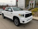2020 Super White Toyota Tundra Platinum CrewMax 4x4 #136321760