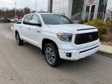 2020 Super White Toyota Tundra Platinum CrewMax 4x4 #136321756