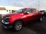 2020 Cajun Red Tintcoat Chevrolet Silverado 1500 LTZ Crew Cab 4x4 #136321791