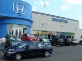 2007 Royal Blue Pearl Honda Civic LX Sedan #13607241