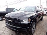 2020 Diamond Black Crystal Pearl Ram 1500 Laramie Crew Cab 4x4 #136342045