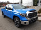 2020 Voodoo Blue Toyota Tundra TRD Off Road Double Cab 4x4 #136341982