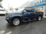 2020 Northsky Blue Metallic Chevrolet Silverado 1500 High Country Crew Cab 4x4 #136341925