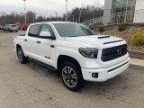 2020 Super White Toyota Tundra TRD Sport CrewMax 4x4 #136342006
