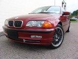 2001 Siena Red Metallic BMW 3 Series 330xi Sedan #13605981