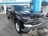 2020 Black Chevrolet Silverado 1500 LTZ Crew Cab 4x4 #136363927