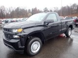 2020 Black Chevrolet Silverado 1500 WT Regular Cab 4x4 #136369932