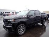 2020 Black Chevrolet Silverado 1500 RST Crew Cab 4x4 #136369931