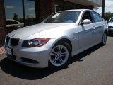 2008 Titanium Silver Metallic BMW 3 Series 328i Sedan #13605789