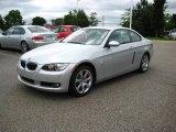 2009 Titanium Silver Metallic BMW 3 Series 328xi Coupe #13611291