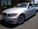 2008 Titanium Silver Metallic BMW 3 Series 328i Sedan #13605792