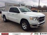 2020 Bright White Ram 1500 Big Horn Quad Cab 4x4 #136389065