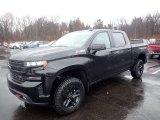 2020 Black Chevrolet Silverado 1500 LT Trail Boss Crew Cab 4x4 #136388980