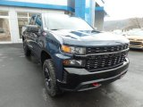2020 Northsky Blue Metallic Chevrolet Silverado 1500 Custom Trail Boss Crew Cab 4x4 #136388905