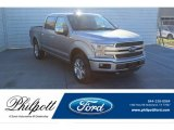 2020 Iconic Silver Ford F150 XLT SuperCrew 4x4 #136406381