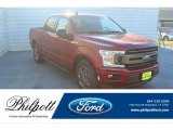 2020 Rapid Red Ford F150 XLT SuperCrew #136406380