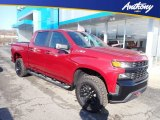 2020 Cajun Red Tintcoat Chevrolet Silverado 1500 Custom Trail Boss Crew Cab 4x4 #136406489