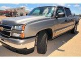 2007 Graystone Metallic Chevrolet Silverado 1500 Classic LS Crew Cab #13613282