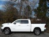 2020 Bright White Ram 1500 Longhorn Crew Cab 4x4 #136406289