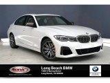 2020 Mineral White Metallic BMW 3 Series M340i Sedan #136421923