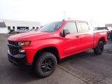 2020 Red Hot Chevrolet Silverado 1500 Custom Trail Boss Crew Cab 4x4 #136421833