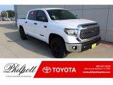 2020 Super White Toyota Tundra SR5 CrewMax 4x4 #136421910