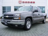 2006 Graystone Metallic Chevrolet Silverado 1500 LT Extended Cab #13610565