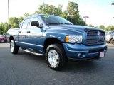 2003 Atlantic Blue Pearl Dodge Ram 1500 Laramie Quad Cab 4x4 #13610747